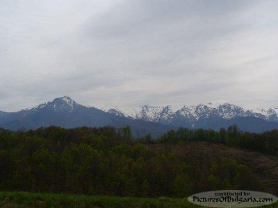 A View to Botev Peak - Apriltsi